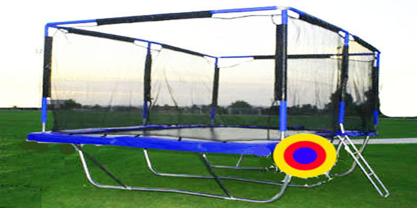 Safety Net for 10x17 Feet Proxamponite Trampoline - Click Image to Close