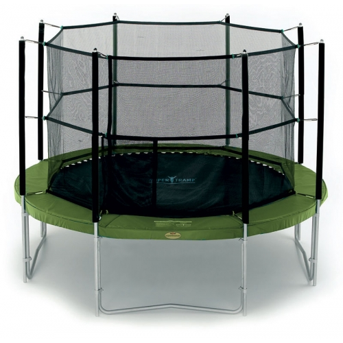 12 Feet Proxamponite HK-7535 Trampoline with Enclosure