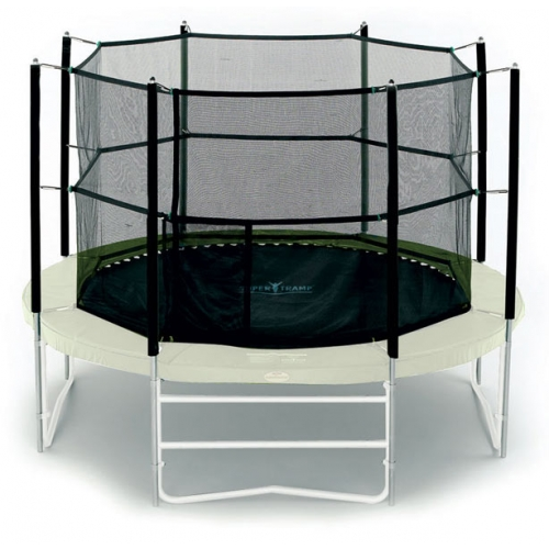 14 Feet Deluxe Trampoline Safety Net Enclosure TX-8055